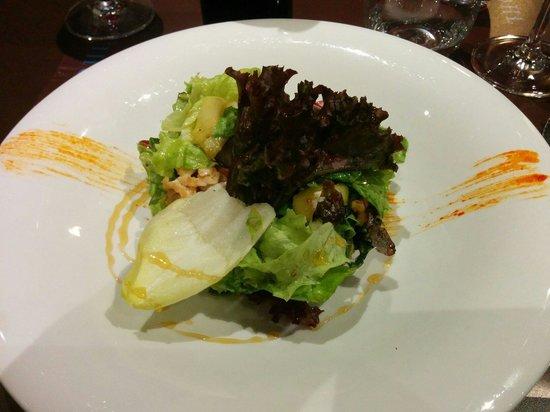 Bar Restaurante Artwohl: Ensalada de pollo