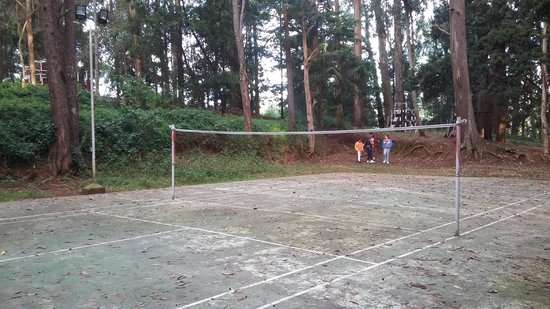 Ratan Tata Officers Holiday Home (RTOHH): badminton court