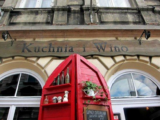 Front Door Picture Of Kuchnia I Wino Krakow Tripadvisor