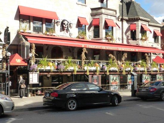 Sir Winston Churchill Pub Complex : Another Exterior View of Sir Winston Churchill Complex