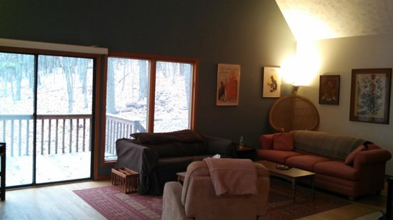 Berkeley Springs Cottage Rentals: Living room