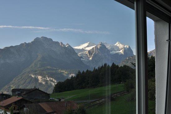 Hotel Gletscherblick : Vue de notre chambre