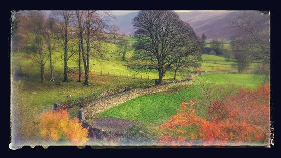 High Fold Guest House: The view from Kentmere