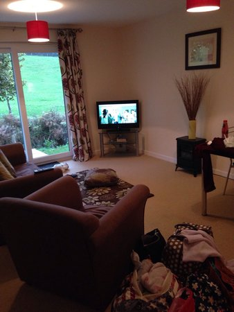 Rosecraddoc Manor: Lounge, very comfortable , lovely space!!