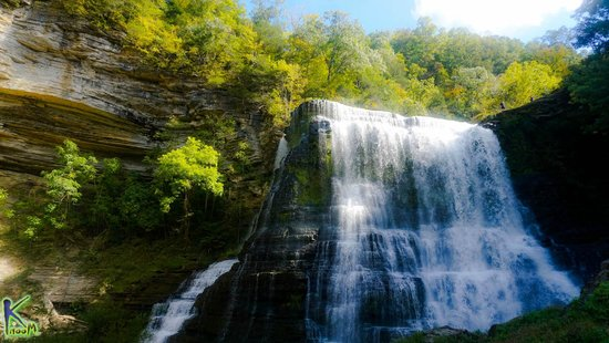 Sparta, TN: Shinning River Water Falls