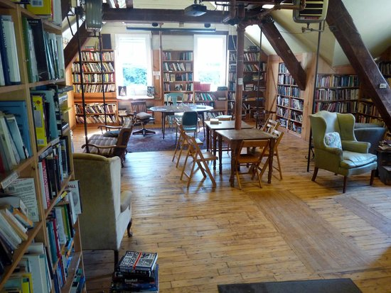 Montague Bookmill: Interno