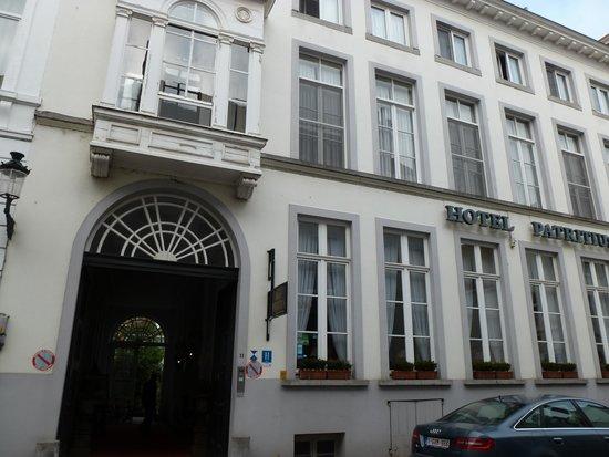 Hotel Patritius: exterior