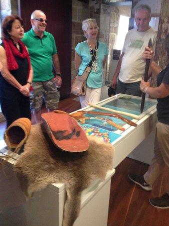 The Rocks Dreaming Aboriginal Heritage Tour: tools