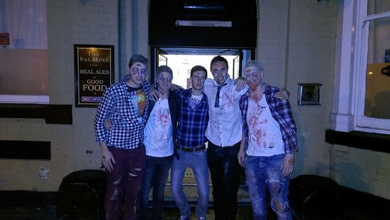 Palatine Hotel Liverpool: halloween at the palatine hotel in liverpool