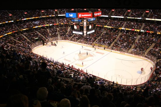 Canadian Tire Centre: View from 300 section