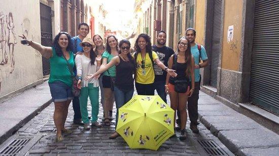 Rio Free Walking Tour: Carol guide