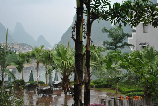 Green Lotus Hotel: View from our room