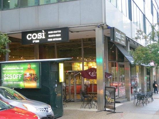Cosi Philadelphia 325 Chestnut St Restaurant Reviews Phone Number Photos Tripadvisor