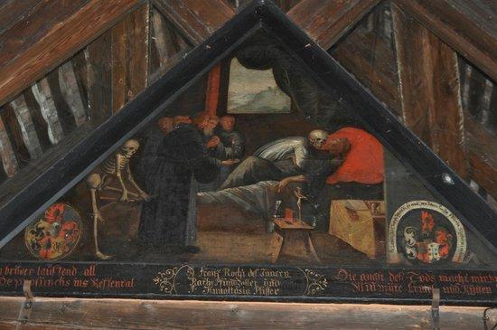Une des 112 peintures sur bois du kapellbr cke picture for Peintre sur bois