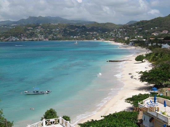Grand Anse beach. Grenada