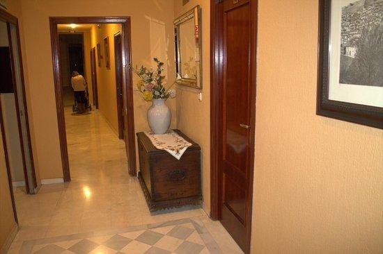 Reina Cristina Hotel: Pasillos