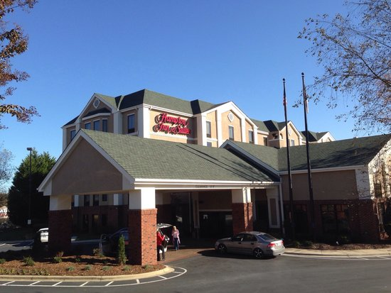 Hampton Inn & Suites Asheville-I-26: Nice hotel in South Asheville