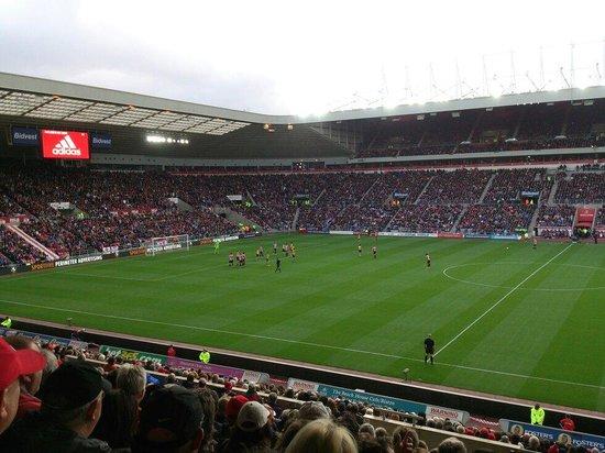 Stadium Of Light: Great views - v Arsenal