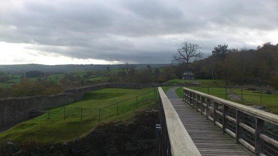 Montgomery Castle: Very atmospheric