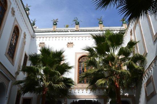 Kassr Annoujoum Ducci Foundation: la terrazza vista dalla corte