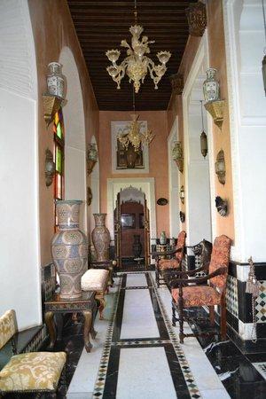 Kassr Annoujoum Ducci Foundation: uno dei saloni del palazzo
