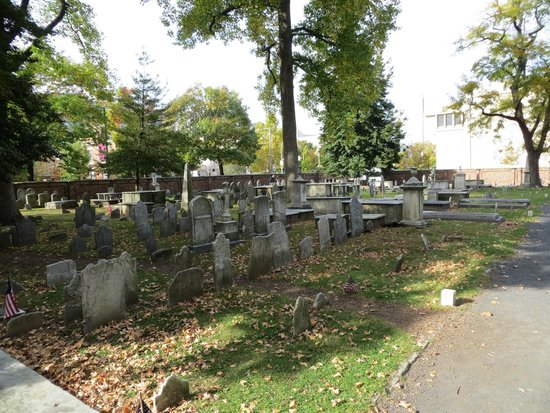 Christ Church Cemetery: A general view of Christ Church Burial Ground