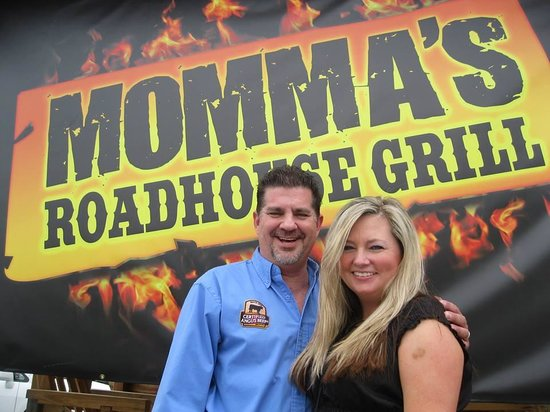 Momma's Roadhouse Grill: Jeff & Tammy