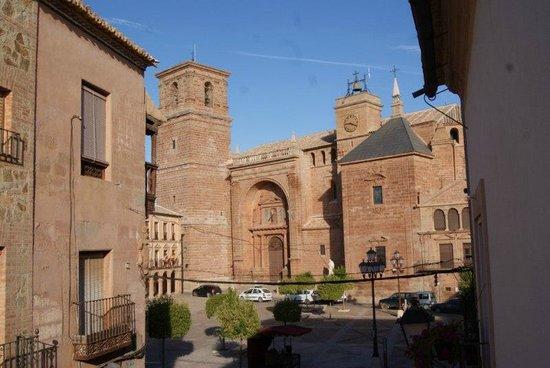 Hotel La Morada de Juan de Vargas: Vista desde nuestra habitación: Polimnia