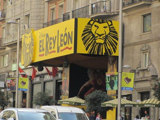 El Rey Leon : Teatro Lope de Vega