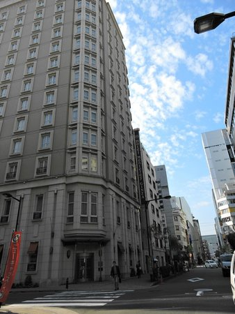 Hotel Monterey Ginza: The hotel is on the corner - it is 12 storeys high