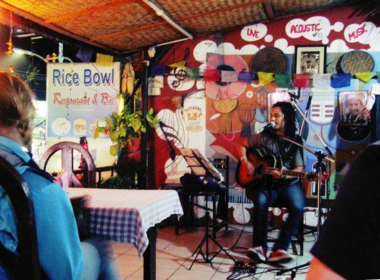 Rice Bowl Tibetan Restaurant: singer Prayatna Shrestha