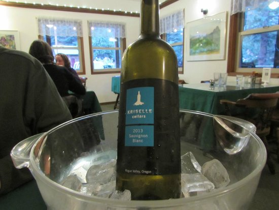 Green Springs Inn and Mountain Cabins Restaurant : Loved the local wine selection