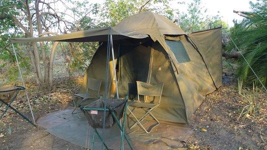 Wilderness Safaris Xigera Camp: as tendas
