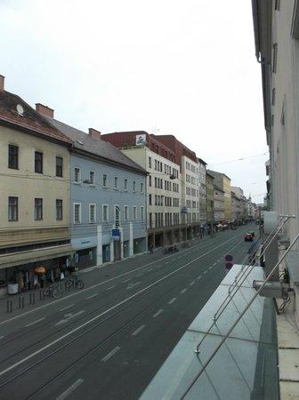 Hotel Drei Raben: from hotel window