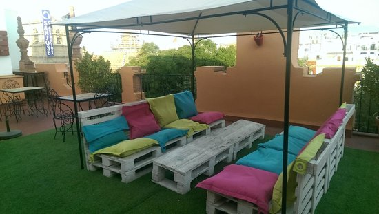 Hotel Baco: Terrace