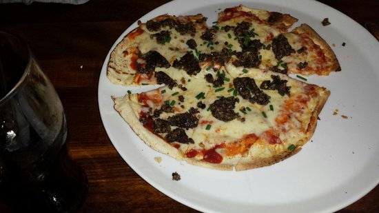 The Lorne Bar: Haggis Pizza