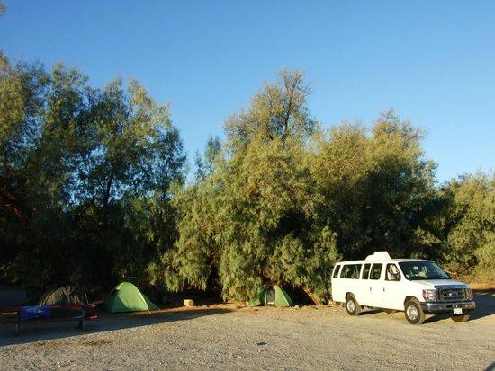 Furnace Creek Resort & Fiddler's Campground: Places à l'ombre