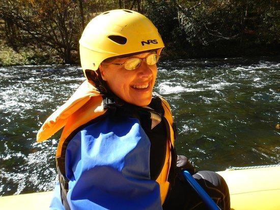Endless River Private Adventures: Terri rafting