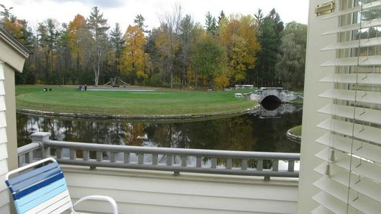 The Ponds at Foxhollow: View from deck