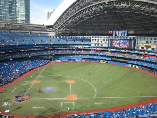 Rogers Centre Food Prices