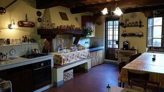 Antica Casa Naldi: La cucina