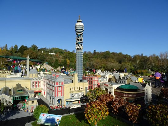 Model of London with Post Office Tower - Picture of Legoland Windsor ...