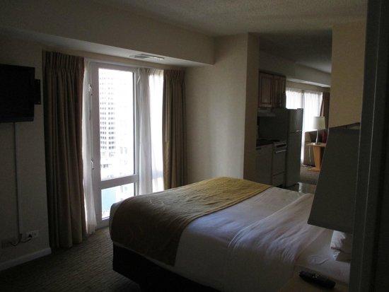 Comfort Suites Michigan Avenue / Loop : bedroom