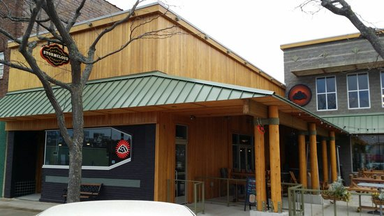 Stormcloud Brewing Company: Outside of the club