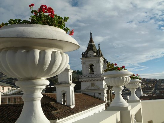 Casa Gangotena: View from the terrace