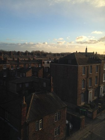 Ibis York Centre: View from my room. This doesn't show it but I could see York Minster in the distance