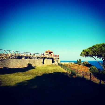 San Felice Circeo, Italy: giardino della villa