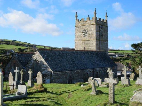 Zennor Head: Church