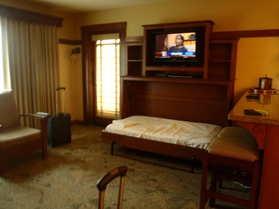 grand californian hotel u0026 spa pull down bed