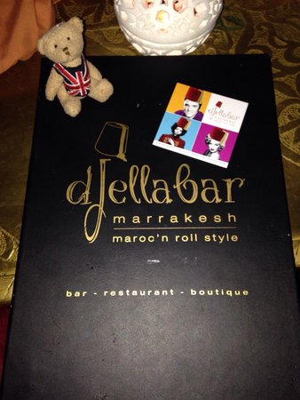 Djelabar: Reasonable menu.